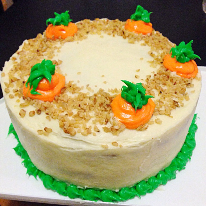 ... Carrot Cake with Maple Bourbon Cream Cheese Frosting | Chelsweets