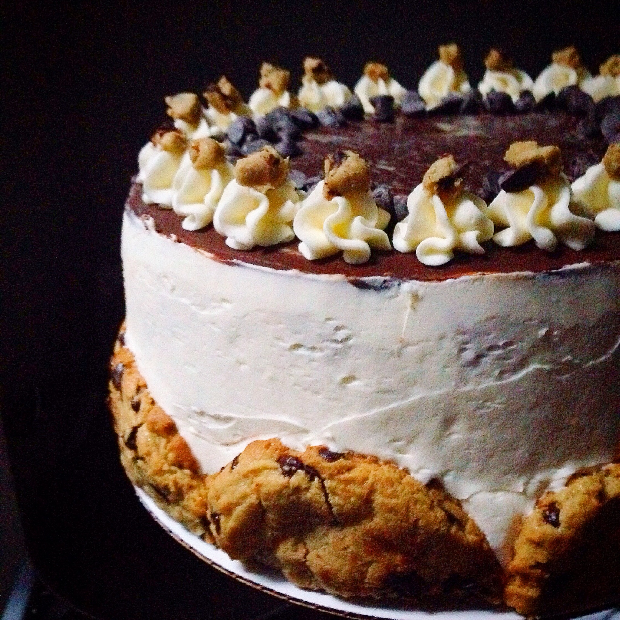 Chelsweets Cookie Dough Cake