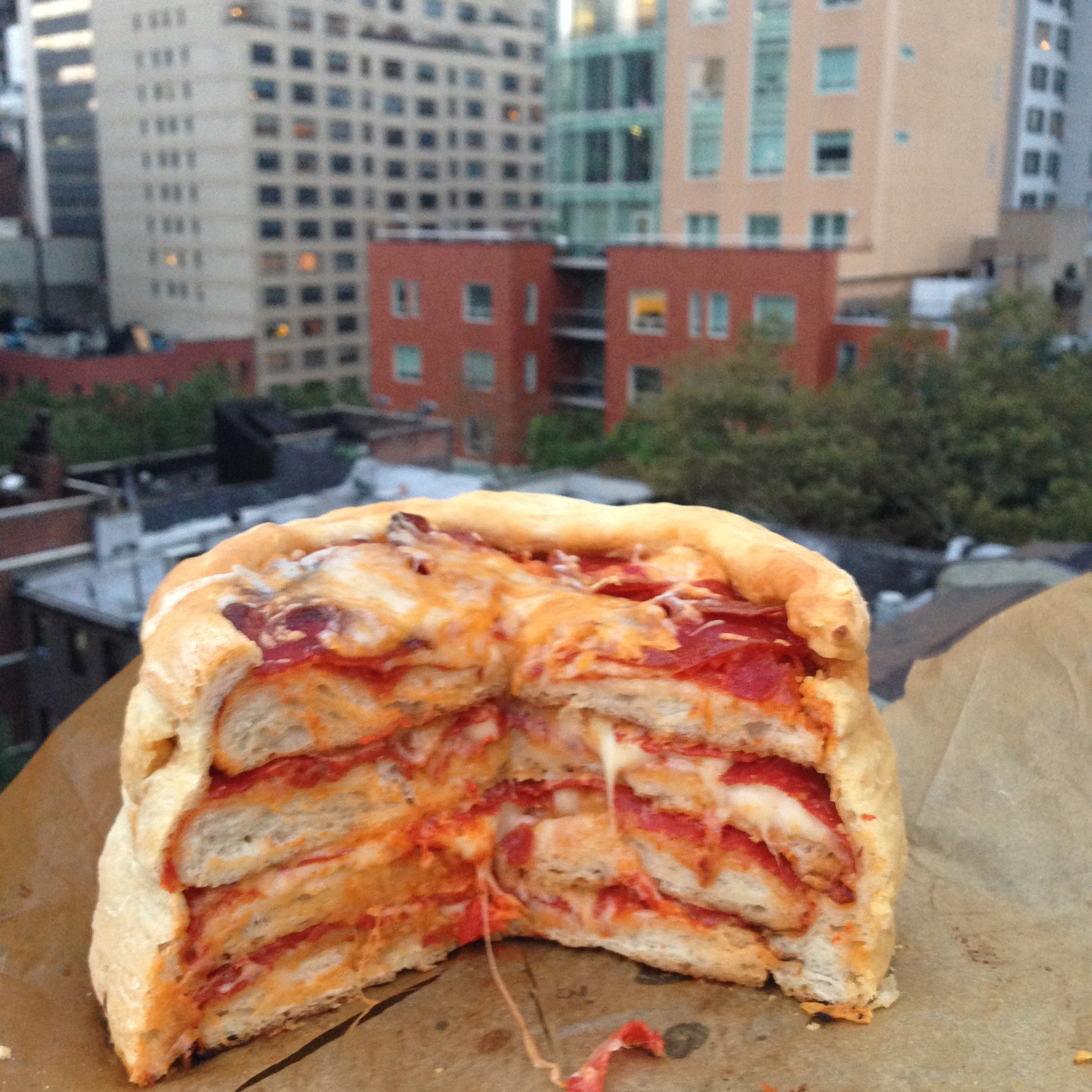 Chelsweets The Pepperoni Pizza Cake Chelsey White