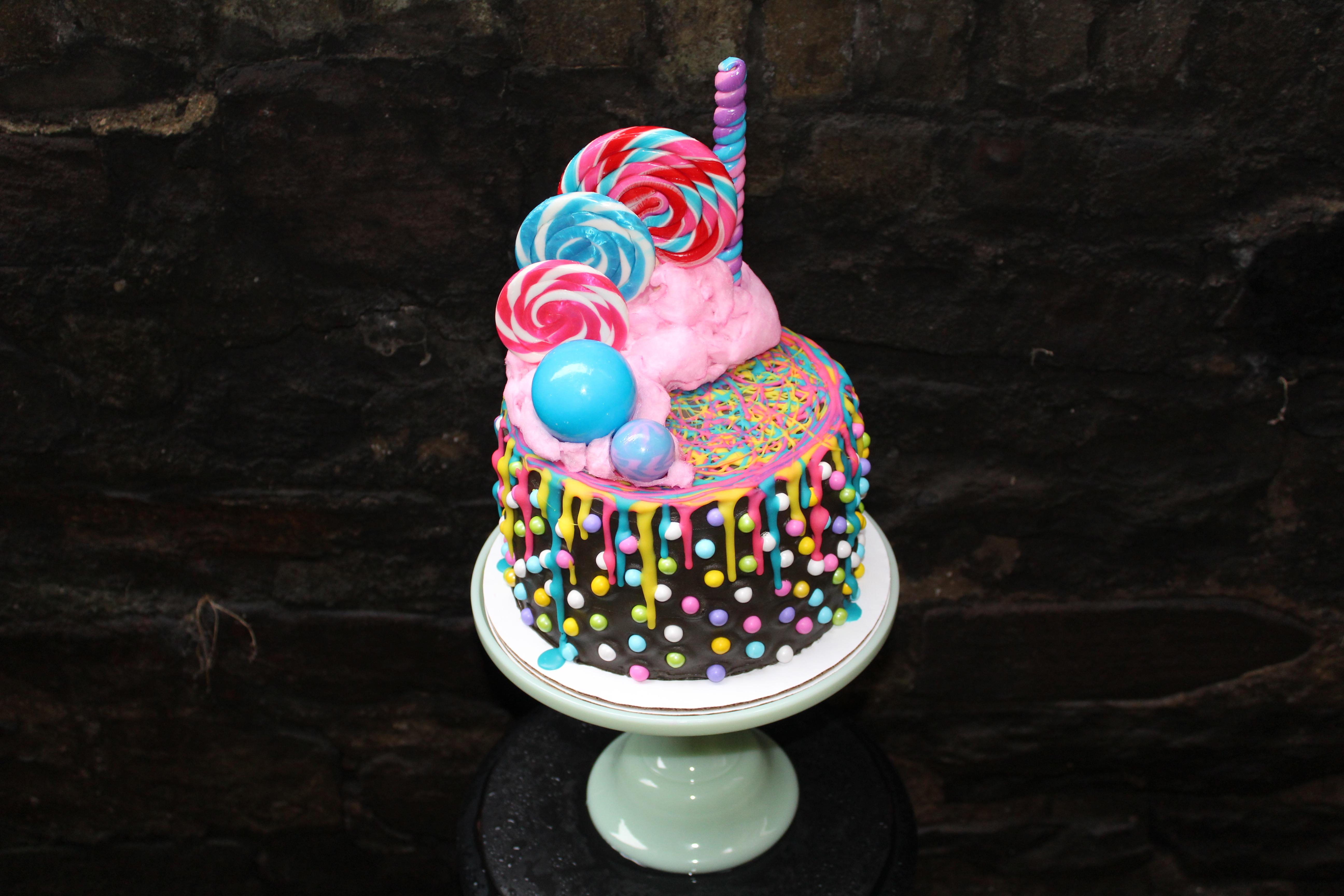 Chelsweets Black Tap Milkshake Cake