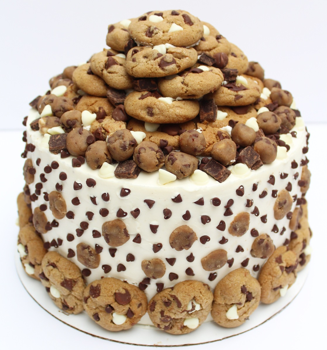Chocolate Chip Cookie Mega Cake