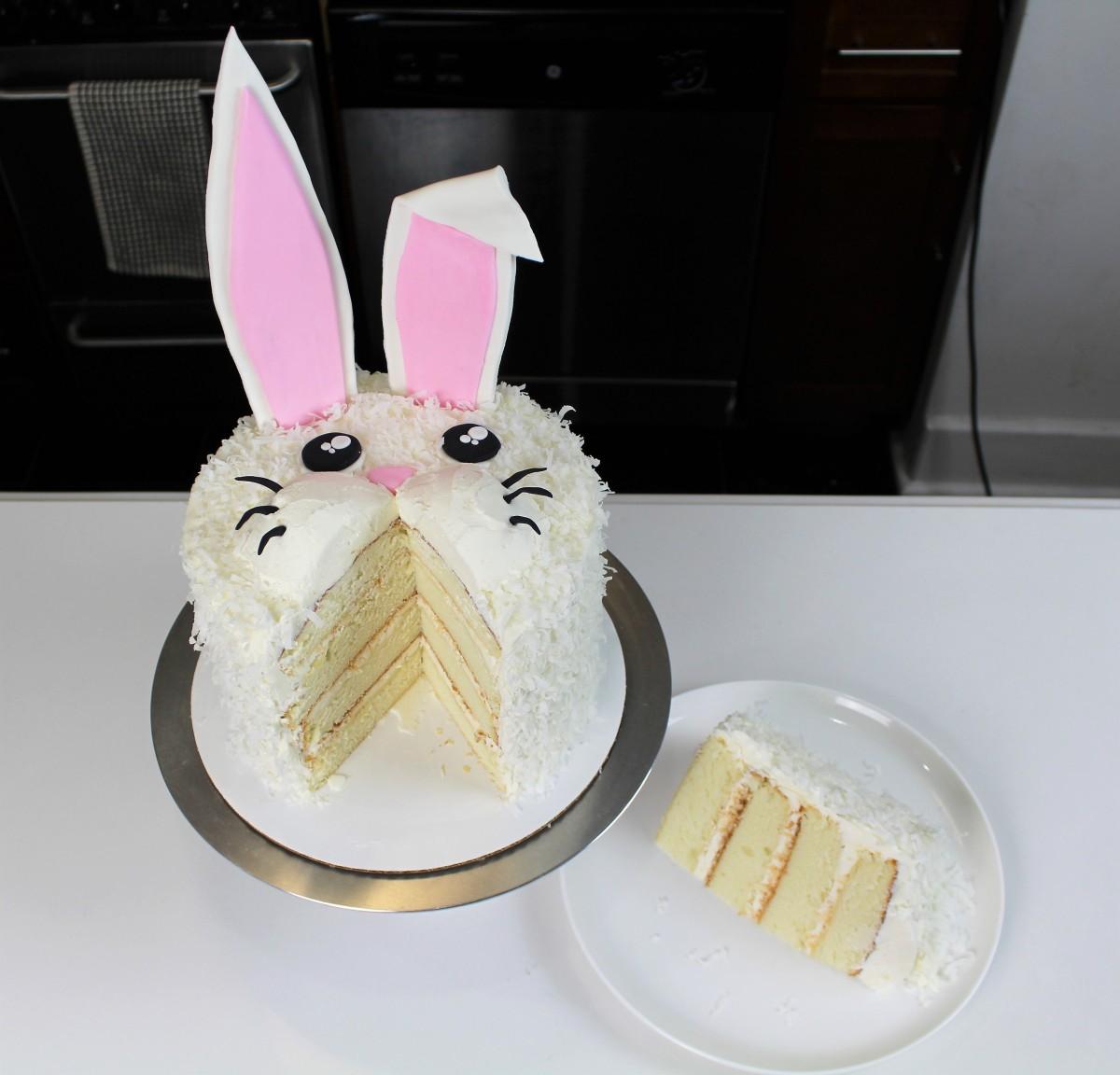 Chelsweets Easy Rabbit Cake Chelsey White