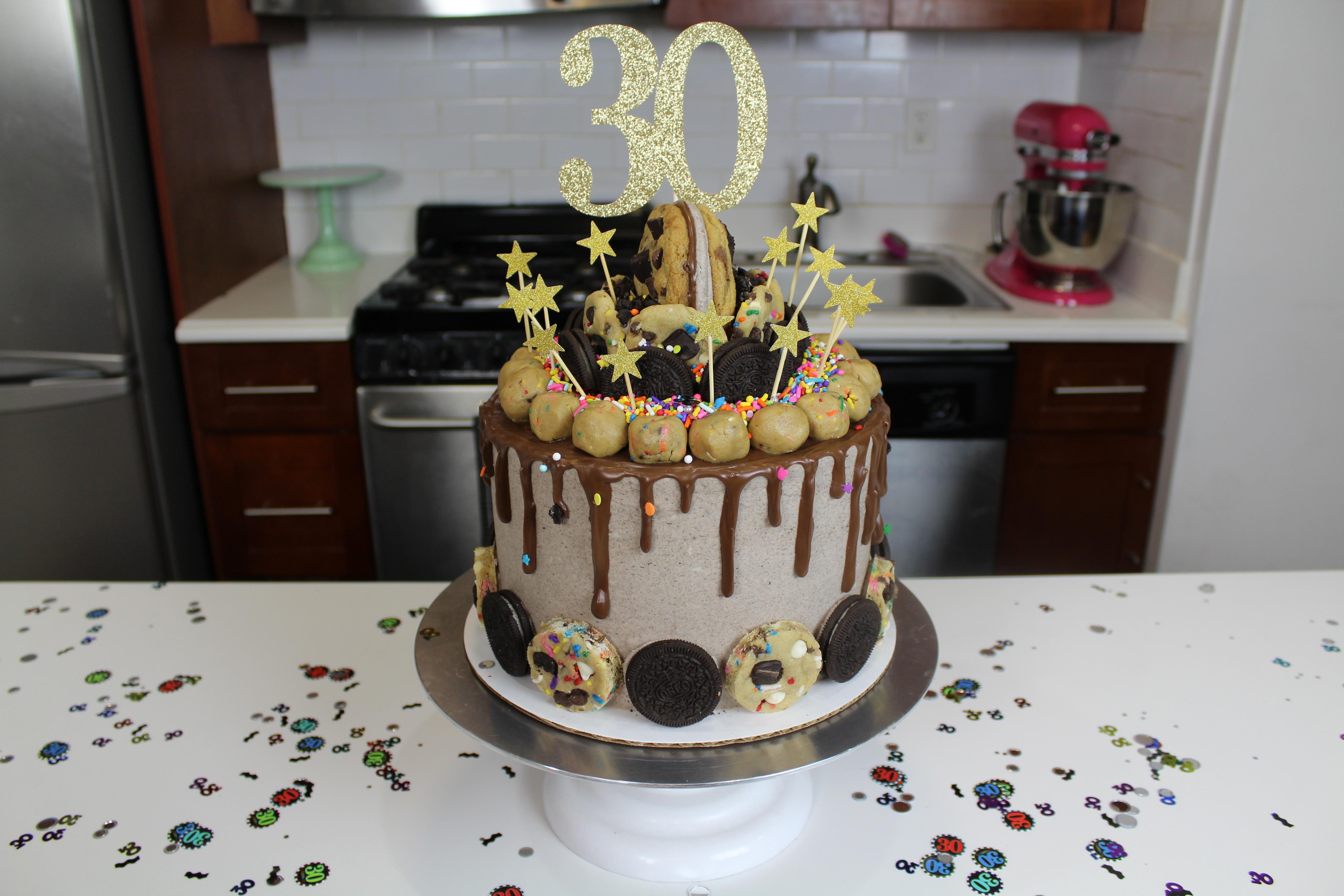 Chelsweets Nutella Oreo Birthday Cake Chelsey White