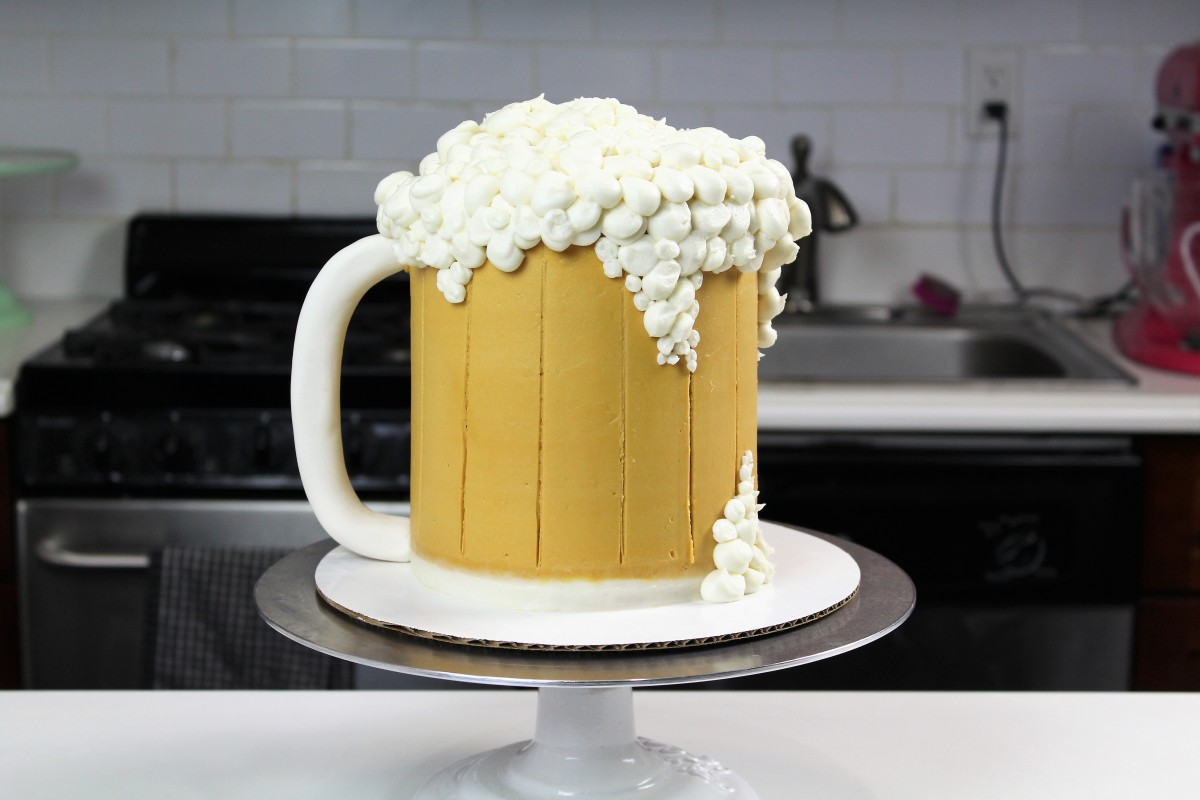 Beer Can Cake Directions