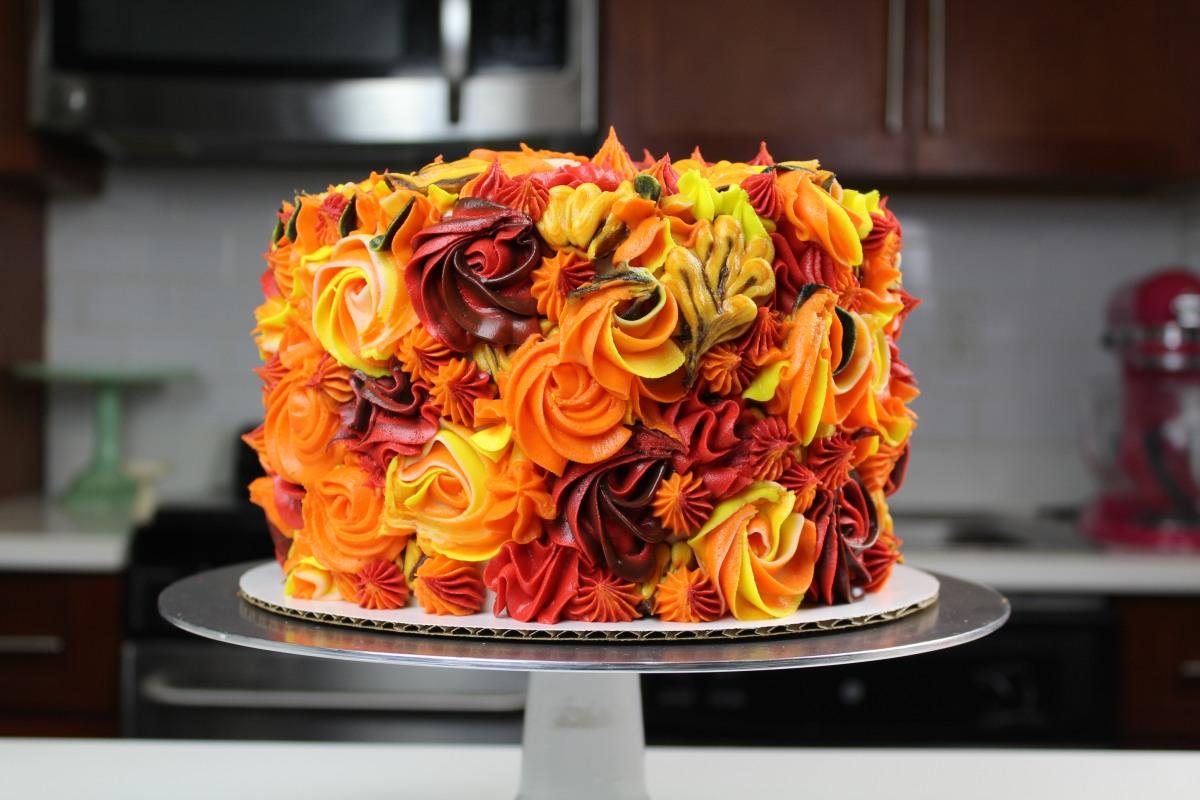Autumn Apple Cake